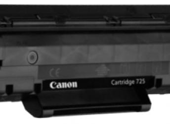 Заправка картриджа Canon 725 в Одессе
